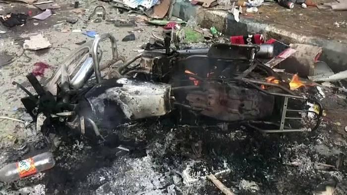 Video: 15 Tote bei Autobomben-Anschlag in Nordsyrien