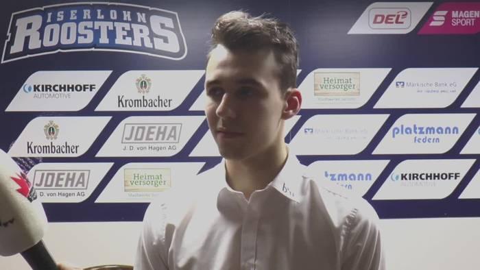 Video: In der DEL Fuß gefasst und mit der U20-Nationalmannschaft große Ziele: Tim Fleischer