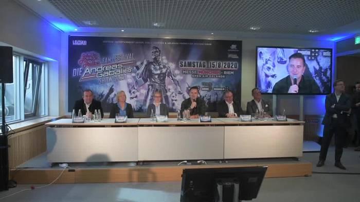 News video: Andreas Gabalier erholt sich in den Bergen - Fanfest geplant