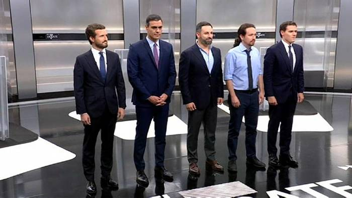 Video: TV-Debatte vor der Wahl: Katalonien-Konflikt im Mittelpunkt