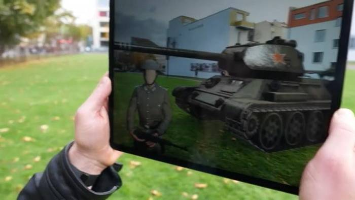 News video: Augmented Reality-App