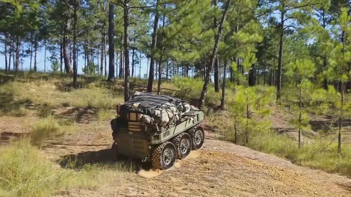 Video: Lasten-Roboter sollen US-Truppen unterstützen