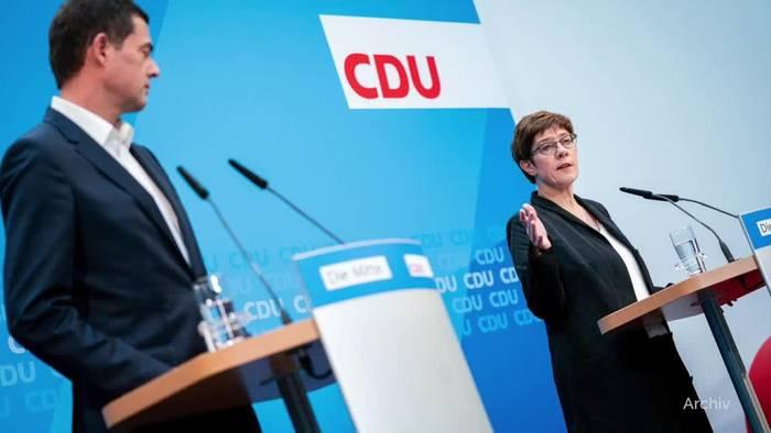News video: Thüringen: Mohring lehnt AfD-Tolerierung ab