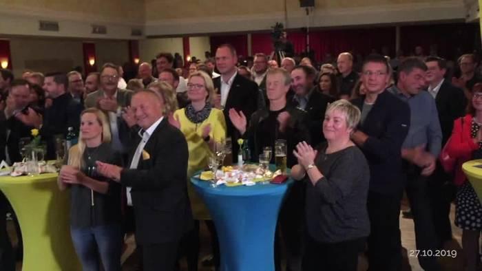 News video: Es ist amtlich: FDP schafft Einzug in Thüringer Landtag