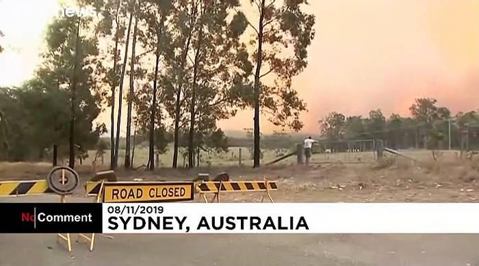 News video: Buschfeuer wüten in Australien