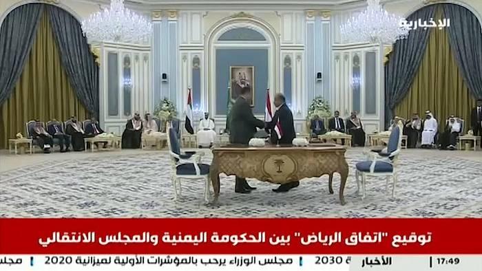 Video: Dialog im Jemen: Präsident und Rebellenchef treffen sich