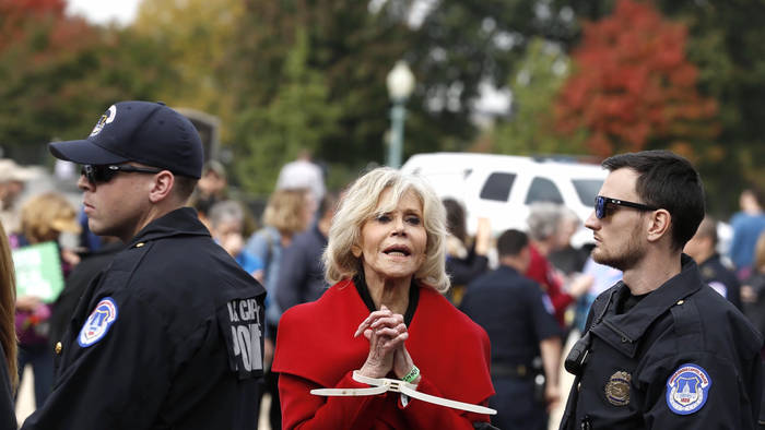 Video: Jane Fonda: Jetzt bloß nicht verhaftet werden!