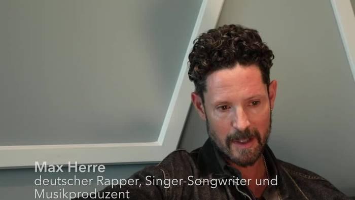 News video: Rapper Max Herre schwärmte für Littbarski und Lindenberg