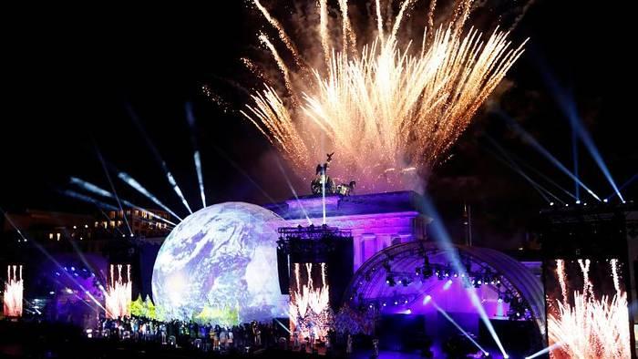 News video: Beethoven, Westbam und Feuerwerk: Berlin feiert 30 Jahre Mauerfall