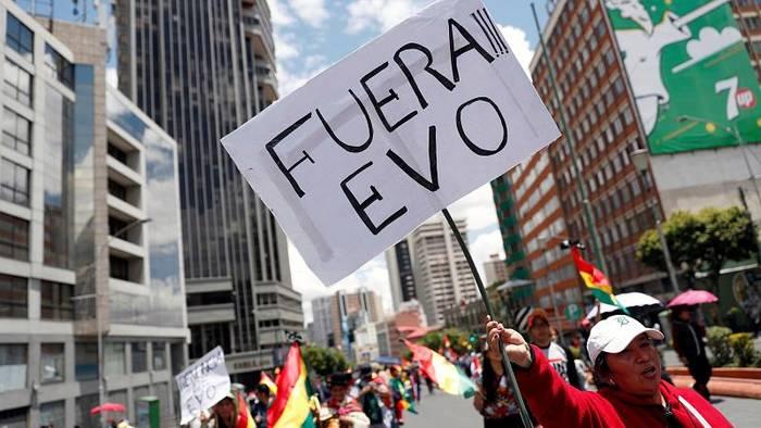 News video: Unter dem Druck von Militär und Straße: Morales tritt zurück