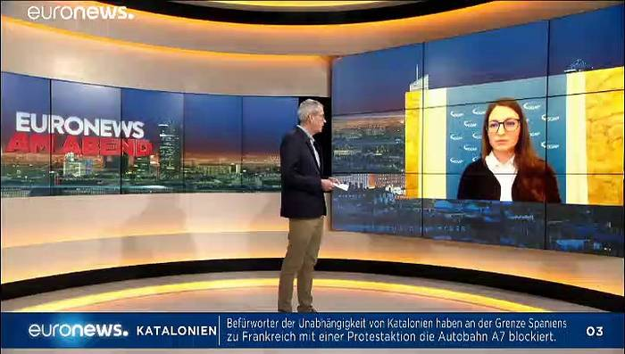 Video: Euronews am Abend vom 11.11.2019