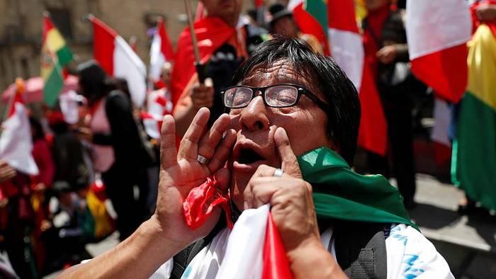 Video: Bolivien: Präsident Morales tritt zurück