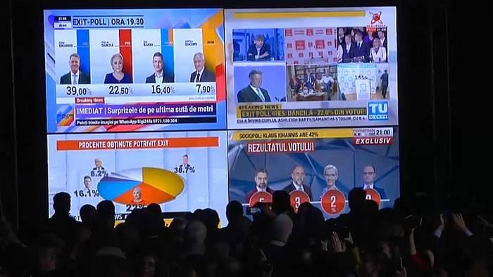 News video: Rumänien: Stichwahl zwischen Iohannis und Dăncilă