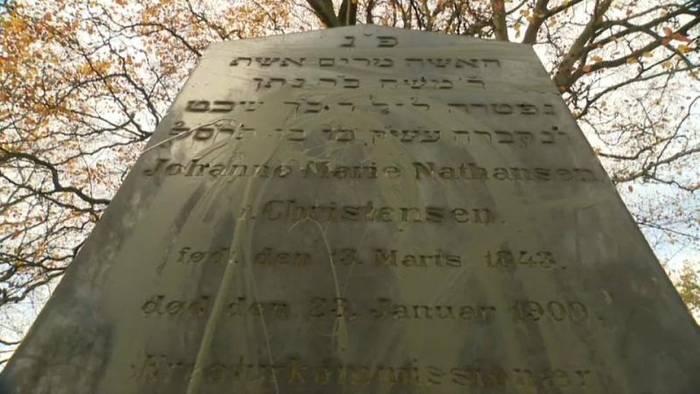 Video: Dänemark: Unbekannte schänden Grabsteine auf jüdischem Friedhof