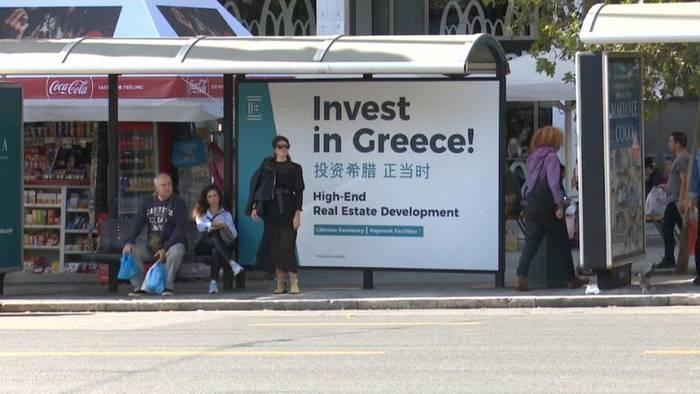 News video: Stärkere wirtschaftliche Beziehungen zwischen China und Griechenland