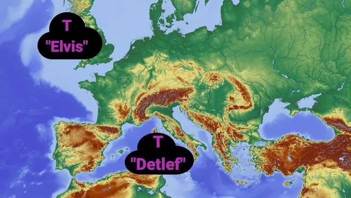 Video: Das Wetter in Deutschland: 3-Tage-Trend
