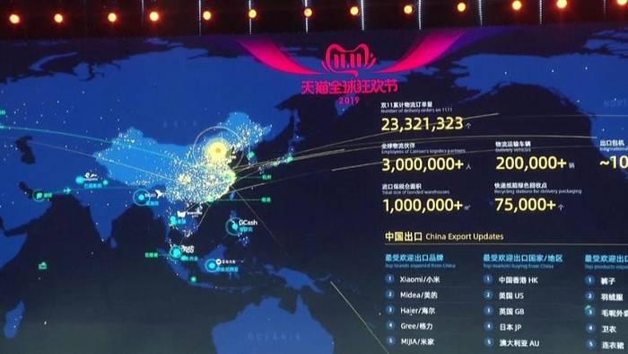 Video: Alibaba bricht Umsatzrekord zum