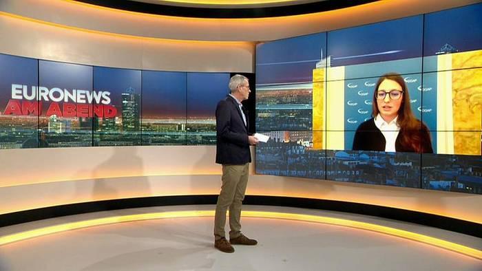 Video: Euronews am Abend vom 11.11.2019