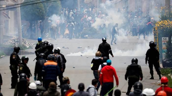 News video: Brandschatzung und Machtvakuum - Bolivien kommt nicht zur Ruhe