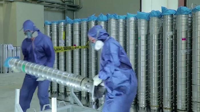 Video: Nach Urananreicherung: EU droht Iran mit Sanktionen