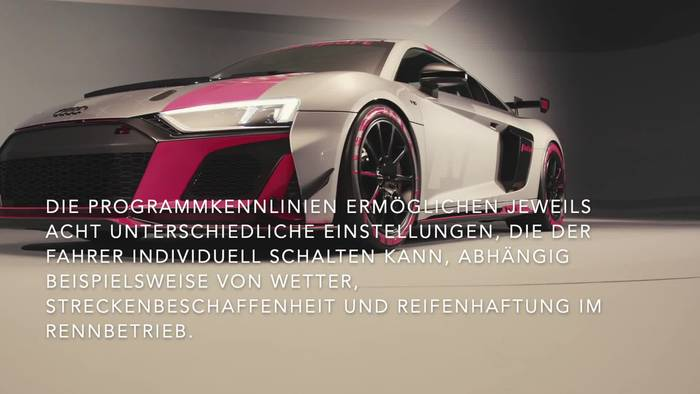 Video: Der Rennwagen - Audi R8 LMS GT4