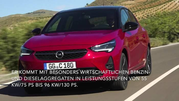 Video: Kleinwagen der nächsten Generation - Opel Corsa, Corsa-e und Corsa-e Rally