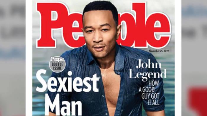 Video: John Legend: Keiner ist sexier als er