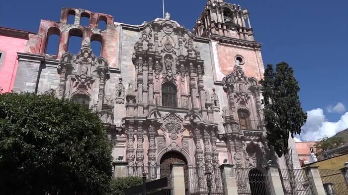 News video: Bunte Strassenmalerei im mexikanischen Guanajuato