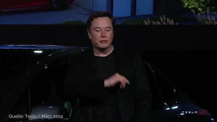 News video: Tesla-Fabrik nahe Berlin soll bis zu 7000 Stellen schaffen