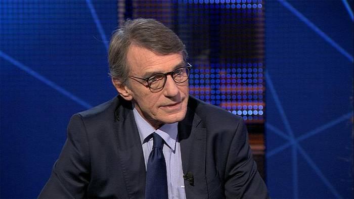 Video: David Sassoli: Nationalismus ist ein Virus für Europa