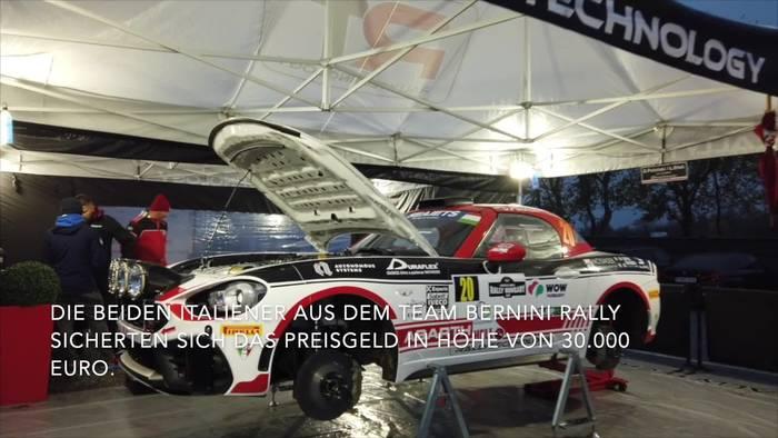 Abarth Rally Cup - Andrea Nucita Gesamtsieger der spannenden Premierensaison