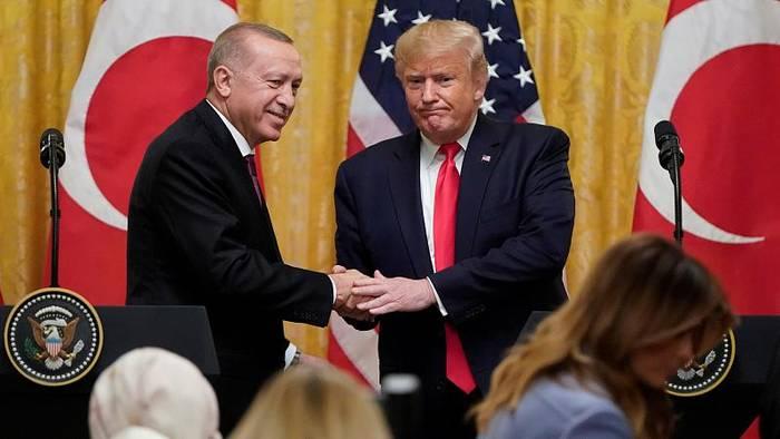 Video: Eitel Sonnenschein: Trump betont Freundschaft zu Erdogan
