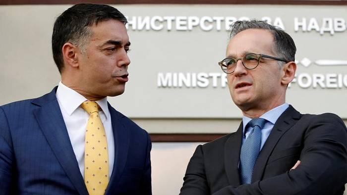 News video: Nordmazedonien: Maas unterstützt die Aufnahme von EU-Beitrittsverhandlungen