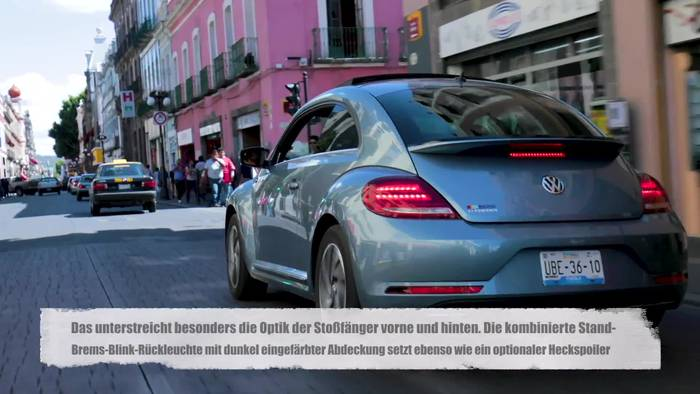 Video: Das Volkswagen Beetle Cabriolet - Stilikone mit Coolness