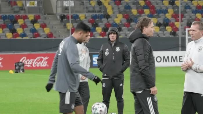 Video: DFB-Elf will gegen Weißrussland das EM-Ticket klarmachen