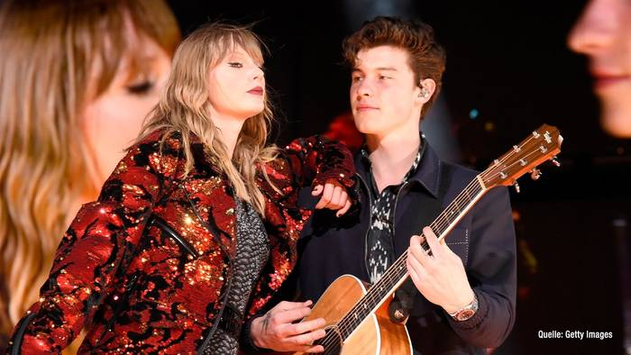 Video: Taylor Swift freut sich: Kollaboration mit Shawn Mendes