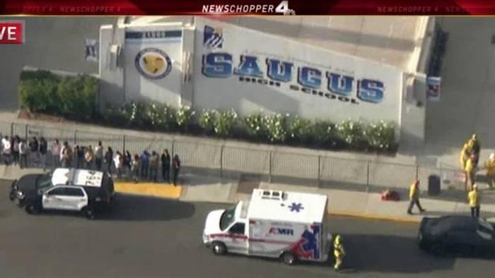 News video: An seinem 16. Geburtstag: Teenager erschießt zwei Schüler