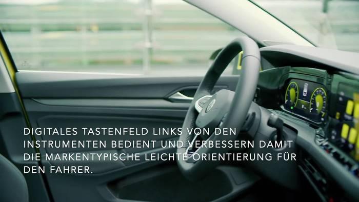 Video: Highlight des neuen Volkswagen Golf - Das digitale Cockpit