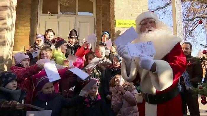 News video: Weihnachstpostfiliale feiert 35. Jubiläum