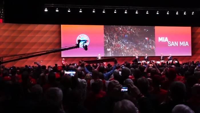 News video: Große Abschiedsshow für Bayern-Patron Hoeneß