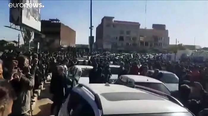 News video: Benzin knapper und teurer: Unruhen im Iran