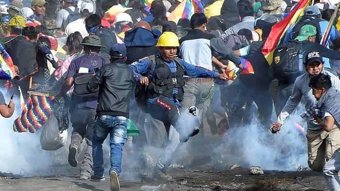 News video: Nächste Runde im bolivianischen Straßenkampf fordert Opfer