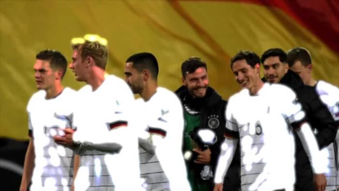 News video: Deutsche Fußball-Nationalmannschft schafft EM-Qualifikation