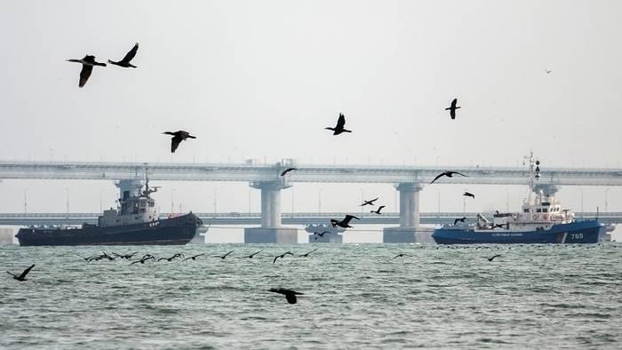 Video: Russland gibt der Ukraine drei Marineboote zurück, so Medien
