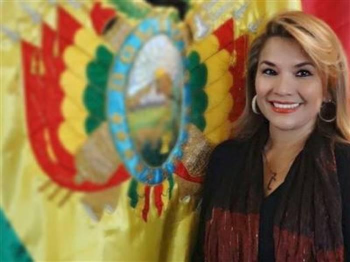 News video: Bolivianische Senatorin erklärte sich zur Interimspräsidentin