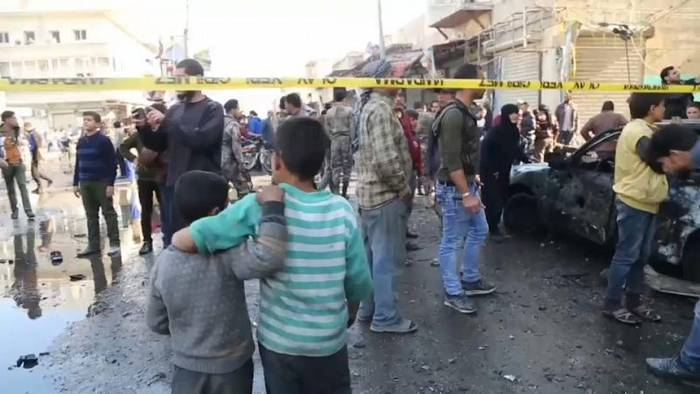 News video: IS oder YPG für Bombenanschlag in Al-Bab mit 19 Toten verantwortlich?