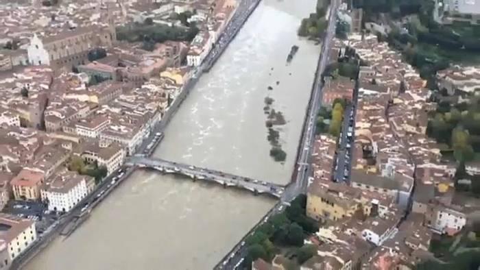 News video: Italien: Pegel sinken langsam wieder