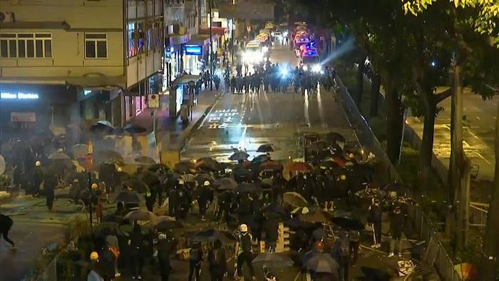 Video: Hongkong: Chinesischer Botschafter sieht London auf Aktivisten-Seite