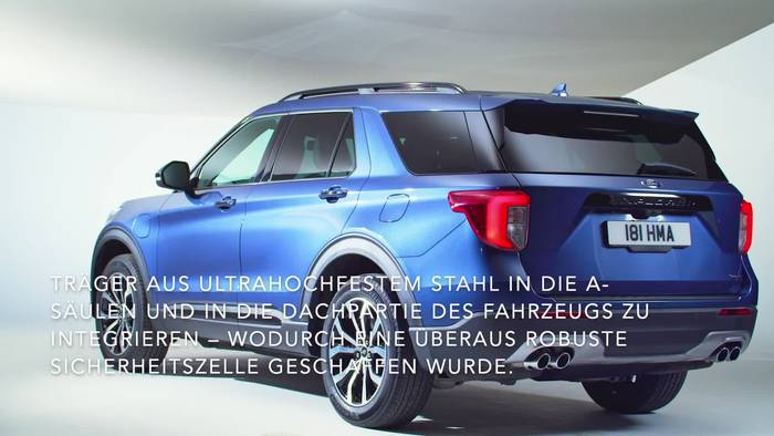 Video: 5 Sterne - Ford Explorer Plug-In-Hybrid Erhält Maximale Euro NCAP-Bewertung