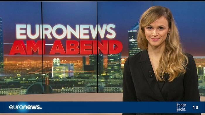 Video: Euronews am Abend | Die Nachrichten vom 19.11.2019